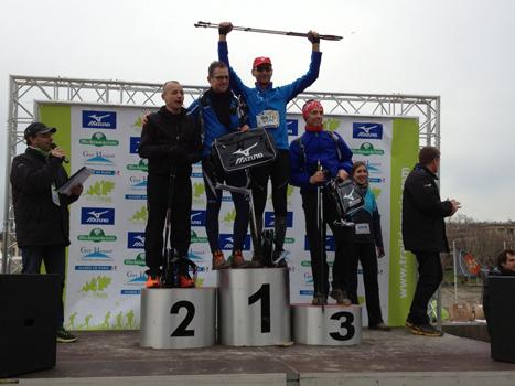 Ecotrail 2013 : belle victoire de Bertrand  sur la chronométrée !