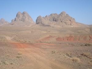 Des paysages exceptionnels lors de la Transahariana...